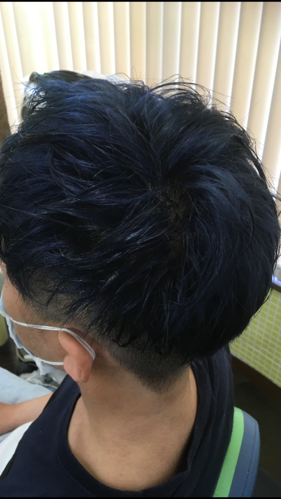 BLUE ASH COLOR